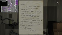 51. This note in the garage provides some redundancy for the information presented on the calendar.