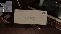 4. Inside is a letter from Oscar. It's missing his name, but it has the Arbor Hill address.