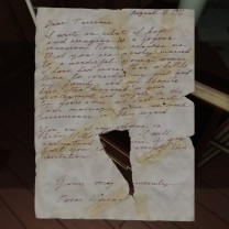 "4. The letter is ripped, but the last paragraph seems to say that Terry is always welcome at his uncle's house, although Oscar also says ""I will understand of course if you feel you cannot accept the invitation."" Why would Terry feel this way? Was there bad blood between the two? Why would Oscar have willed Terry the house, then?"