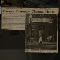 8. In the opposite corner, though, something very interesting. In December of 1965, Oscar basically gave the pharmacy away, selling it for a song. Why would he do this? The article doesn't speculate.