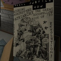 The zine itself.