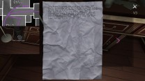 6. A few crumpled pages next to the desk.