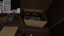 9. If you pick up enough copies, you'll reveal that Terry's hiding a gentleman's magazine in this box.