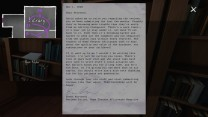 """11. In another corner of the library, we find a stern letter to Terry from his editor at the magazine. Apparently, Terry's reviews went through a period of getting really weird, including tangents about his childhood. The letter is dated November 1, 1994, and the editor says Terry's reviews had been off the """"last few months."""" Terry and his family moved into the mansion on August 1, 1994. Is that what prompted this? What's going on with Terry? test"""