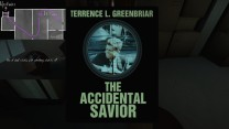 16. In the dark, another copy of The Accidental Savior. Kaitlin notes that it has something attached to it.
