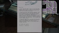 20. A letter next to the typewriter tells us that Terry is pitching this new manuscript to Unknown Dimension.